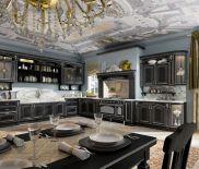 Интерьер кухни в стиле Корвина Амберского