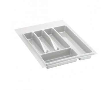 Лоток для столовых приборов белый 400-450 мм