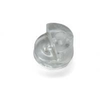 Клямер прозрачный круглый d5