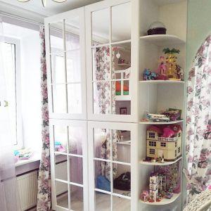 Шкаф в детскую комнату. Фасад Classico Corteo + зеркало